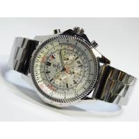Cheap HUGE SIZE ALPHA SILVER DIAL MULTI-FUNCTION AUTOMATIC MANS WATCH wholesale