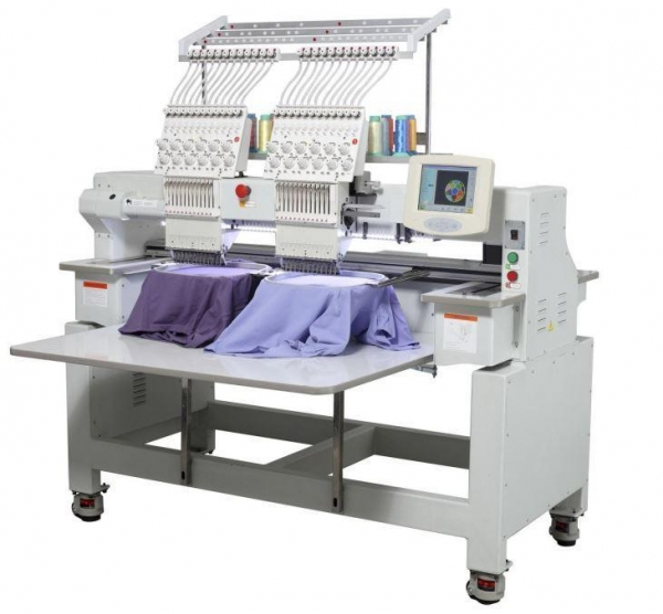 Head cap and t shirt embroidery machine of embroideryorder