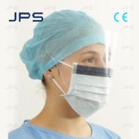 Cheap Disposable Face Mask with Eye Shield wholesale