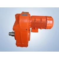 Cheap F Series Parallel Axes Bevel Gear Reducer Motor wholesale