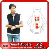 Cheap Apparel Fashion Waistcoat For Men Design with electric heating system heated clothing warm OUBOHK wholesale