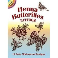 Cheap Henna Butterfly Tattoos CH1050 wholesale