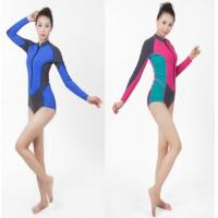 China Long sleeve short leg triathlon wetsuit and surfing wetsuit on sale
