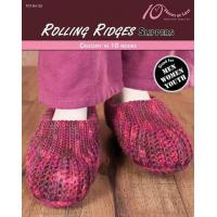 Cheap CROCHET PATTERNS ROLLING RIDGES Youth & Adult Slippers wholesale