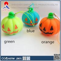 Foam Clay-putty-slime  Stress Pumpkin with Strap , with or without LED light