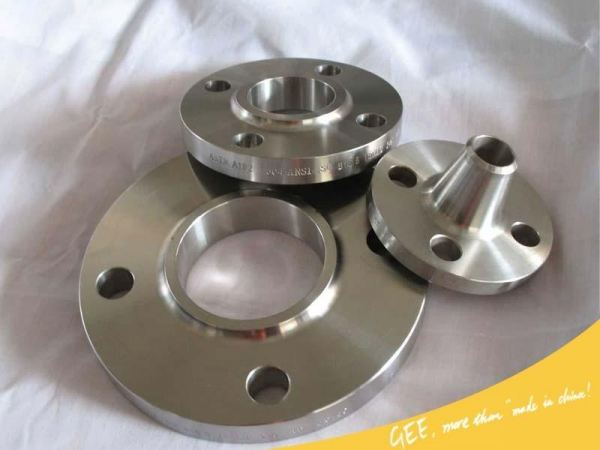 Forged steel flanges of