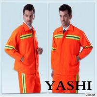 Cheap Uniform Hot Sell New Design Orange Safety Worksuit wholesale