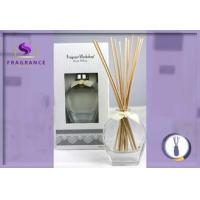 Buy cheap White 80ml Aromatherapy Reed Diffuser Spa Essential Oil Diffuser from wholesalers