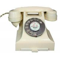 Cheap Culture 1950s Bakelite Telephone in Ivory wholesale