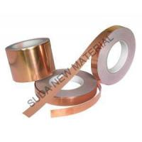 China Double Sides Copper Polyester Tape for Communication Cable and Power Cable Shielding on sale