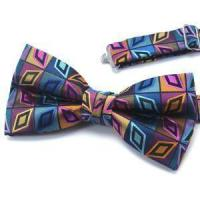 Cheap Fashion Silk Classic Paisley Striped Dots Woven America Or France Style Bowtie wholesale