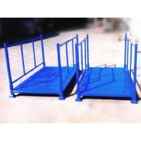 Cheap Jumbo heavy duty steel structure Blankets Rolls foldable stacked stillages wholesale