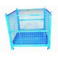Cheap Warehouse Stackable Logistic Industry Folding storage Stillage Cage wholesale