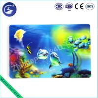 Cheap 3D effect PP lenticular table mat Placemat of Sea scenery wholesale