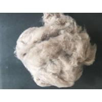 15.8/16.5micron Brown Dehaired Cashmere Fibres For Spinning End Use