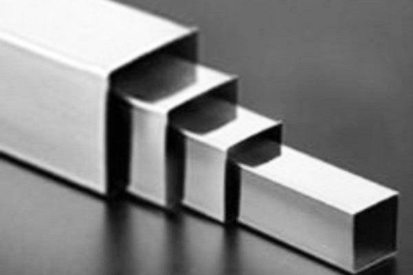 Stainless steel square bar of sxaustss
