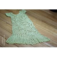 Cheap Handmade Crochet summer lace dress from doily pattern wholesale