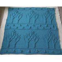 Cheap Handmade Crochet trees blankets and plaid for winter wholesale