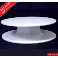 Cheap Round Cake Stand White Cupcake Stand / Round Display Stands Wedding Party Decorating wholesale