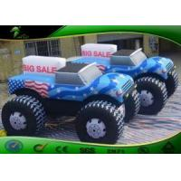 Cheap Customized Inflatable Car Shapes / Giant Inflatable Car Model Balloon For Advertising wholesale