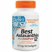 Best Astaxanthin 12 mg, 60 Softgels, Doctor's Best