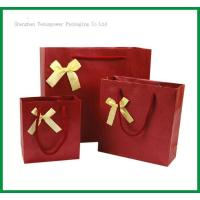 TSP837 Bow Tie Paper Shopping Bag