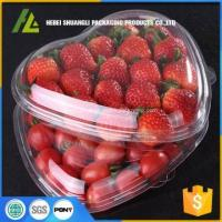 Buy cheap Heart shape clear plastic boxes from wholesalers