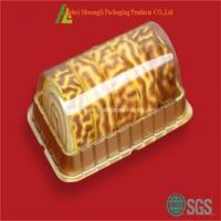 Buy cheap Clear transparent plastic cake roll box wholesale from wholesalers