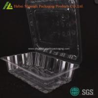 Buy cheap Clamshell clear transparent cake roll plastic containers from wholesalers