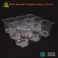 Buy cheap Clear transparent Plastic bulk cupcake boxes from wholesalers