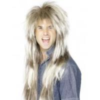 Cheap 80's Mega Mullet Wig, Blonde and Brown Product Code42030 wholesale