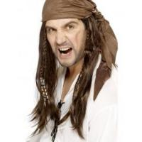 Cheap Buccaneer Pirate Wig Product Code42074 wholesale
