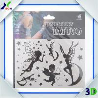 Cheap Promotional Custom Logo Printed Non-toxic temporary tattoo sticker For Decoration wholesale
