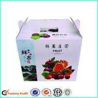 Cheap Corrugated Cardboard Carton Boxes For Fruits and Vegetables wholesale