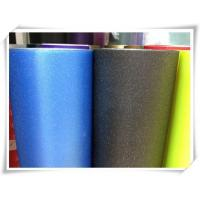 Cheap Dark Blue Car Glitter Wrap Vinyl With Air Free Bubbles wholesale