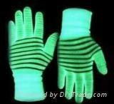 Cheap Photoluminescent Yarn Glow in the dark Polyster Embroidery Yarn for sale