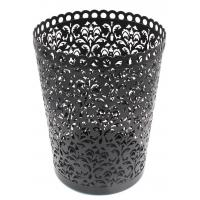 EasyPAG Waste Can Hollow Flower Pattern Wastebasket Set of 2