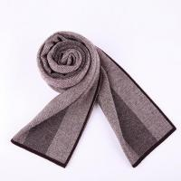 Buy cheap High - Grade Pure Wool Classic British Business Scarves ZW1003 from wholesalers