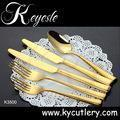 Cheap set of cutlery stainless steel 18/10,cutlery set,gold cutlery set wholesale