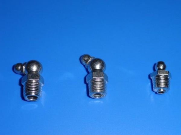 Quality 45 degrees 72 degrees 180 degrees grease fittings for sale