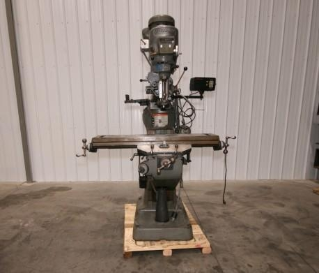"""Quality Bridgeport Series I Vertical Mill, 9"""" x 42"""" Table for sale"""