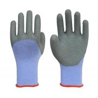 21-count Yarn Wrinkle Half-coated Gloves