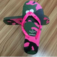Cheap High quality natural rubber Flip flop with rubber strap wholesale