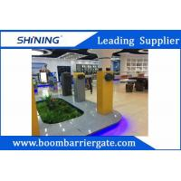 100W 220V Boom Barrier Gate , Car Parking Automatic Barriers With Customize Logo
