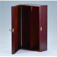China China Personalized Vintage MDF Wooden Wine Gift Boxes on sale