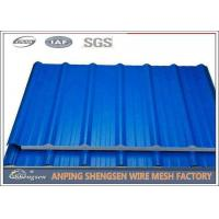 1.2M Width 5M Length Steel Corrugated Sheets Galvanized Corrugated Roofing Sheets