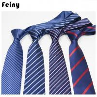 Customized Polyester Silk Neck Ties For Men