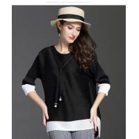 Cheap Loose Seven-minute Sleeve T-shirt wholesale