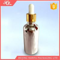 Cheap 100ml Silvery Glass Bottle with Dropper wholesale