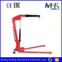 Buy cheap 1Ton Heavy Duty Mobile Engine Hoist Lifter Hydraulic Folding Engine Crane Shop Crane from wholesalers